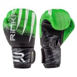 Rinkage Blast  gants d'entraînement boxe Color  Blanc-Noir Size 12 OZ