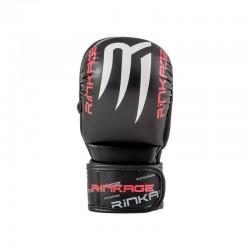Rinkage Hades Gants de mma sparring Color Noir-Rouge Size S/M