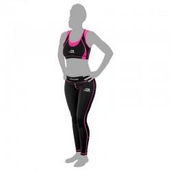 Rinkage Ariane Barssière polyester Color Noir-Jaune Size M
