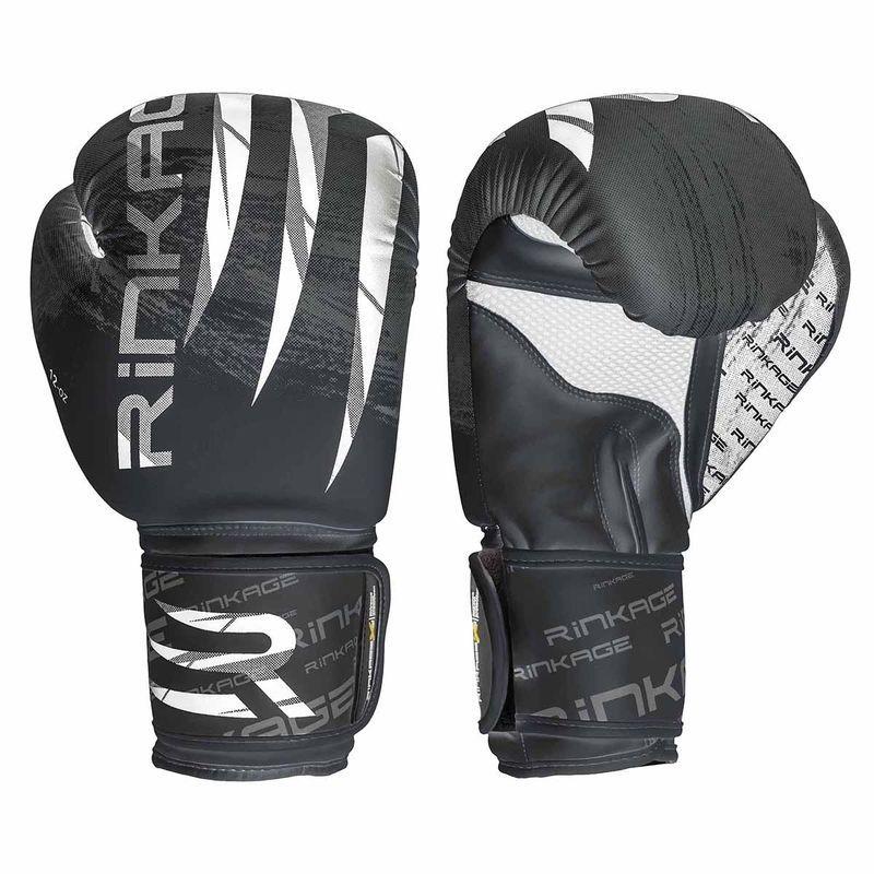 Rinkage Blast  gants d'entraînement boxe Color  Blanc-Bleu Size 12 OZ