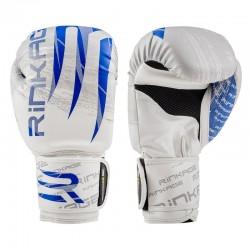 Rinkage Blast  gants d'entraînement boxe Color  Blanc-Bleu Size 14 OZ